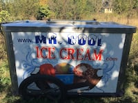 Mr. Cool Ice Cream printed wooden sideboard Port Coquitlam, V3E