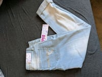 two blue and white denim bottoms Groveport, 43125