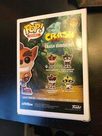 Crash Bandicoot Glow In The Dark Funko Pop! Best Buy exclusive Centreville, 20120