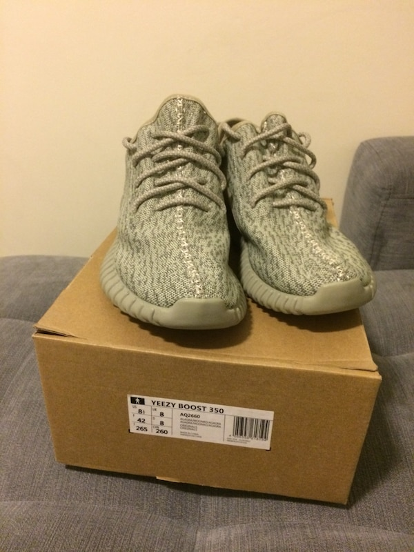ff53cf97b863d Used MoonRock Yeezys with Box for sale in Halton Hills - letgo