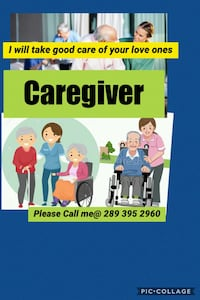 Caregiver live in or out Toronto