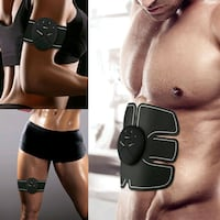 ABDOMINAL AND LEGS/ARMS MUSCLE TONING MACHINE