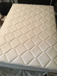 Barely used Ikea Full size mattress and boxspring