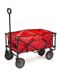 Sport Wagon (Foldable, Red) With Removable Bed Annandale