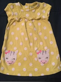 Yellow and white Baby dress  Jacksonville, 32222