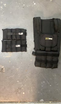 Weight vest with ankle weights