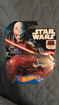 Hot wheels the inquisitor die-cast model