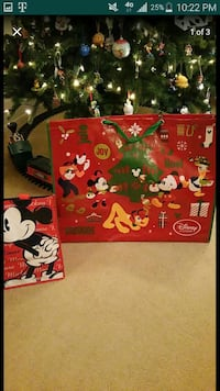 Jumbo reusable Disney Christmas bag