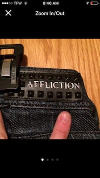 Affliction Jeans sz 25