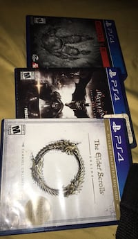 ps4 games  New Carrollton, 20784