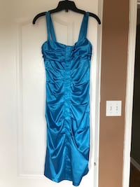 Blue formal dress from Le Chateau  Newmarket, L3X 2P3