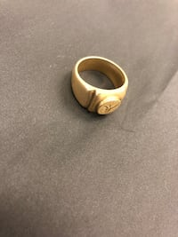 Gold Plated 18 K Ring Boston, 02135