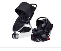 Brand New, In Box: Complete Britax B Agile and B Safe Travel System Columbia, 21044