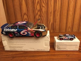 Two limited edition Mark Martin Valvoline stock car toys
