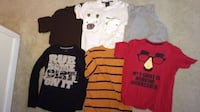 Boys Toddler 2T Clothes - Clean - No Stains - 1 Winter coat - 17 Pants and 16 Shirts Centreville
