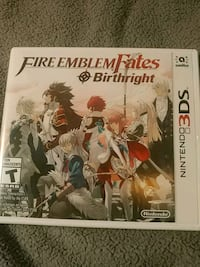 Fire Emblem Fates Birthright game for 3ds Victoria, V8Y 2J2
