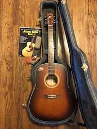 Canadian Art & Lutherie Wild Cherry Acoustic Guitar package w case + pro set up Oak Park, 60304