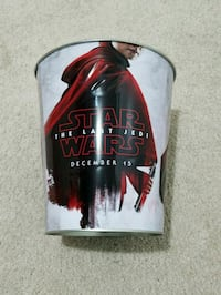 Star Wars: The Last Jedi Popcorn Bucket Fairfax, 22033