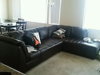 MUST SELL*** Leather couch (2 pieces) North Las Vegas, 89084