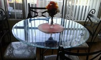 Dining table with 4 chairs  Brampton, L6W 3H2