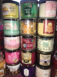Various Candles, Bath and Body, Yankee candles, Pier One  Toronto, M4A 1A3