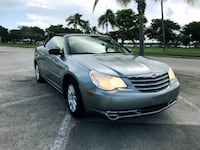 Chrysler Sebring 2008 Convertible, Clean Title, 109 850 miles  North Miami