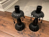 Candle Stick Holders Glass