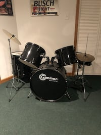 black and gray drum set Woodhaven, 48183