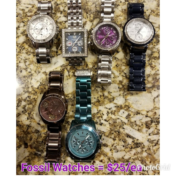 Ladies Brand Name Watches Perfect Condition