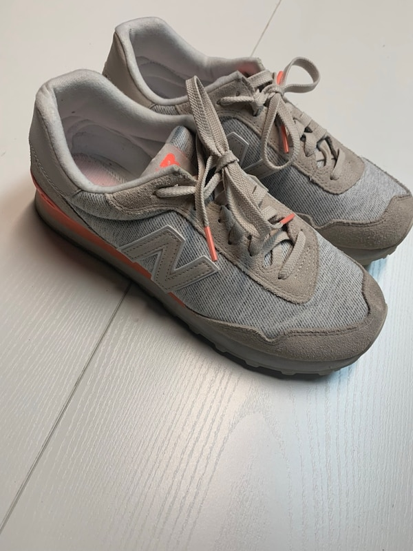 863db2acdb7 Used pair of gray-and-pink running shoes for sale in Columbus - letgo