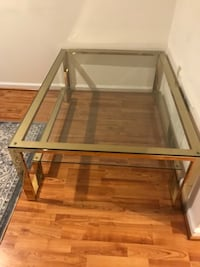 Glass and gold coffee table  Fairfax, 22033