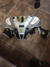Kids small lacrosse shoulder pads