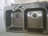 stainless steel sink with faucet Lavaltrie, J5T 1S6