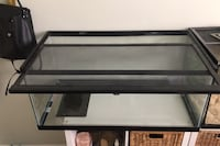 Large Reptile tank with heating pad attached Toronto, M6M 2E4