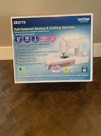 NEW Brother XR3774 Sewing and Quilting Machine (37 Stitches) Bellevue, 98005