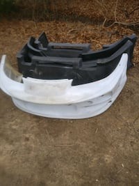 4 fiberglass front and rear bumpers