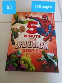 Spiderman hardcover book 185 pages Miami, 33175