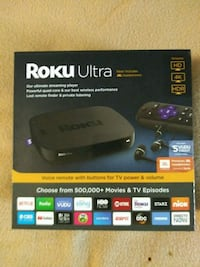 black Roku Premiere + TV box Bakersfield, 93304