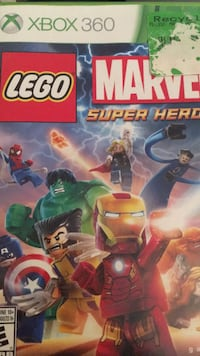 Lego Marvel Super Heroes Xbox 360 game case Coquitlam, V3K 6Y8