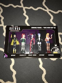 Batman adventures girls night out set new bendable figures Madison Heights, 48071