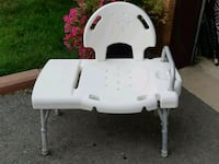 white and gray plastic chair Mississauga, L5R 3C7