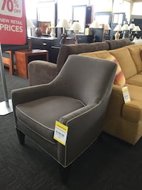 Grey Piper Accent Chair Norfolk, 23502