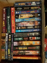 assorted DVD movie case collection Medon, 38356