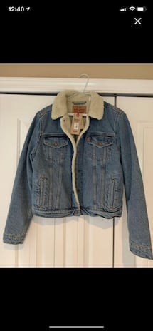 NWT Levi's Original Trucker Jacket -Women's Large