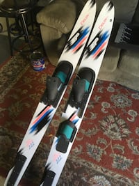 Brand new water skis