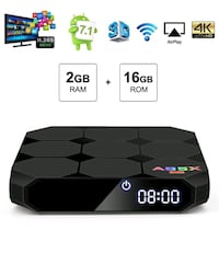 New A95X Android 7.12GB RAM 16GB ROM tv box Mississauga, L5C 3A5
