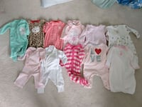 Winter newborn/0-3 month girls clothes Germantown, 20876