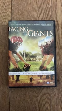 Facing the Giants DVD Mouvaux, 59420