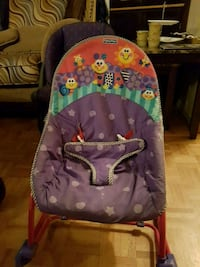 baby's purple and green bouncer 798 km