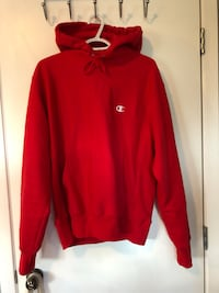 Red Champion Hoodie size S Calgary, T2P 0M9